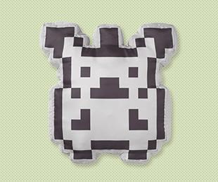 Giant Pixel Pikachu Cushion