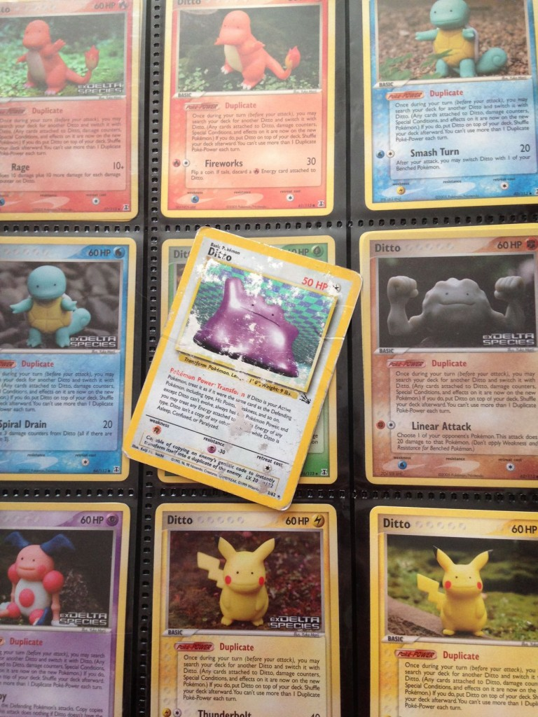 Electricbluewolf's Ditto cards.