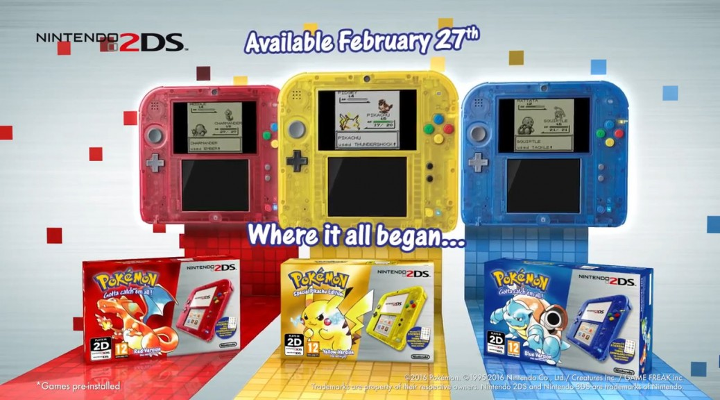 Red, Blue, Yellow Trailer Image: Go back to where it all began with Virtual Console releases and limited edition bundles!