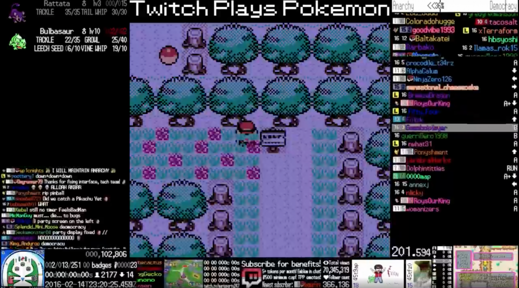watch this crystal hack for twitch plays pokémon s second