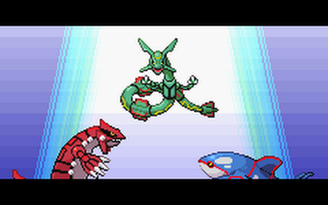 Even the other box-legendary Pokémon respected Rayquaza.