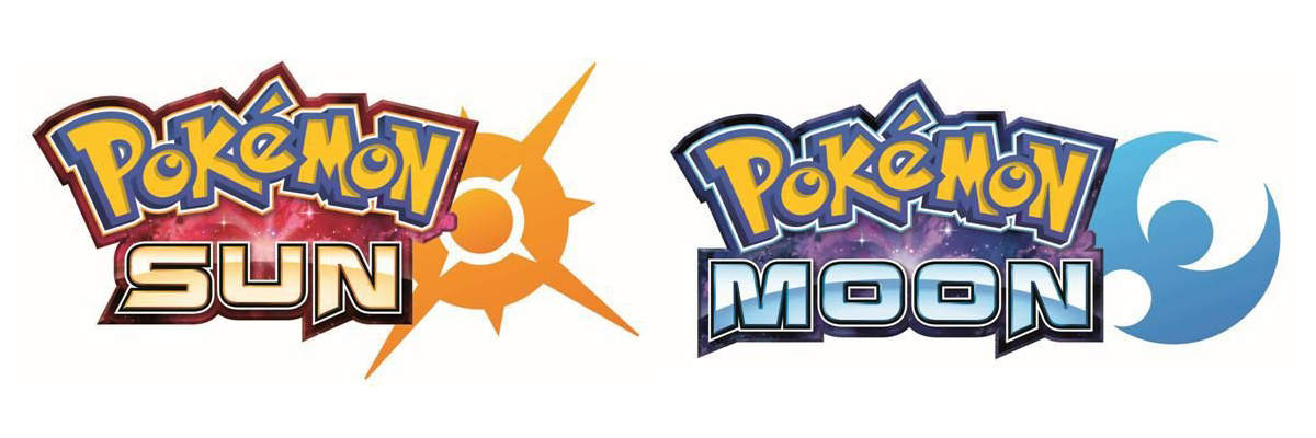 Pokémon Sun and Pokémon Moon logos