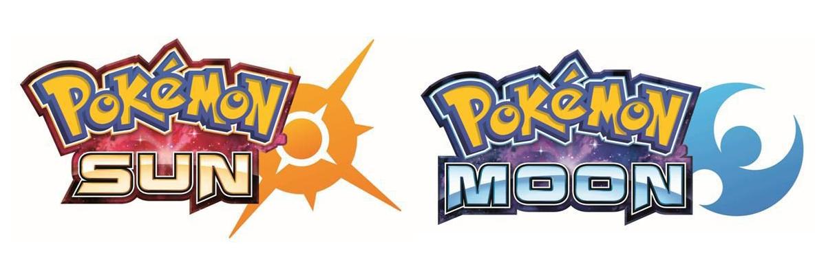 Pokémon Sun and Pokémon Moon logos
