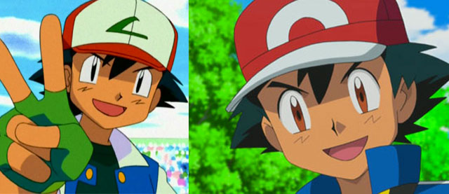 Ash Ketchum: 2000 and 2016