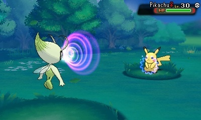 Celebi's only friends with Pichu with funny-shaped ears.
