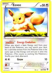 Furious Fists 80/111: First Gen 6 Eevee.
