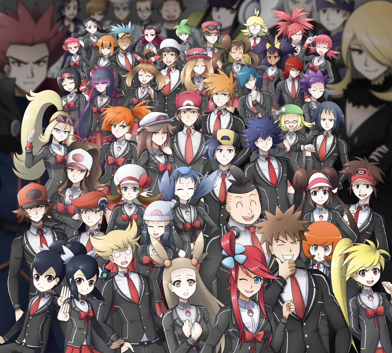 Such lovable artworks and so many people... and this isn't even the whole group.