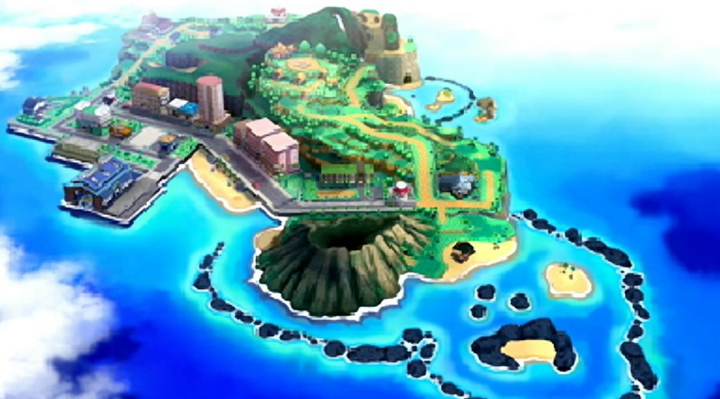 The Alola region, or at least part of it?