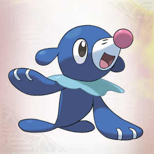 Popplio's Sugimori artwork.