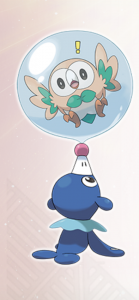 Popplio enjoys clowning around!