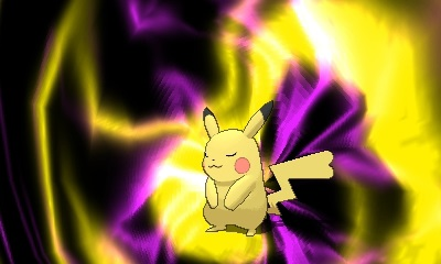 Pikachu seems like it is in for a bad time.