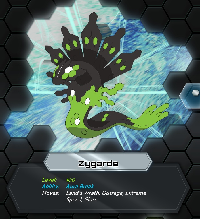 But why is Zygarde not shiny or in a different form?