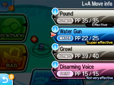 Battle Moves Screen effectiveness 2