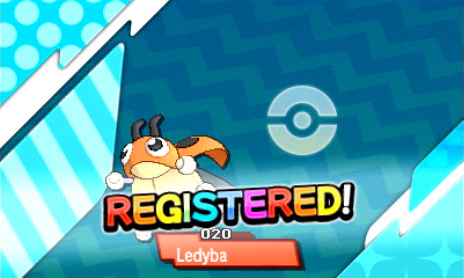 Ledyba in the Dex