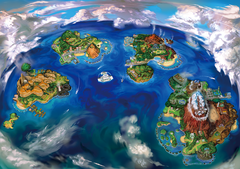 "The Alola region is described as Masuda and Ohmori as ""teeming with life""."