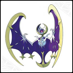 The Moon mascot's official art.