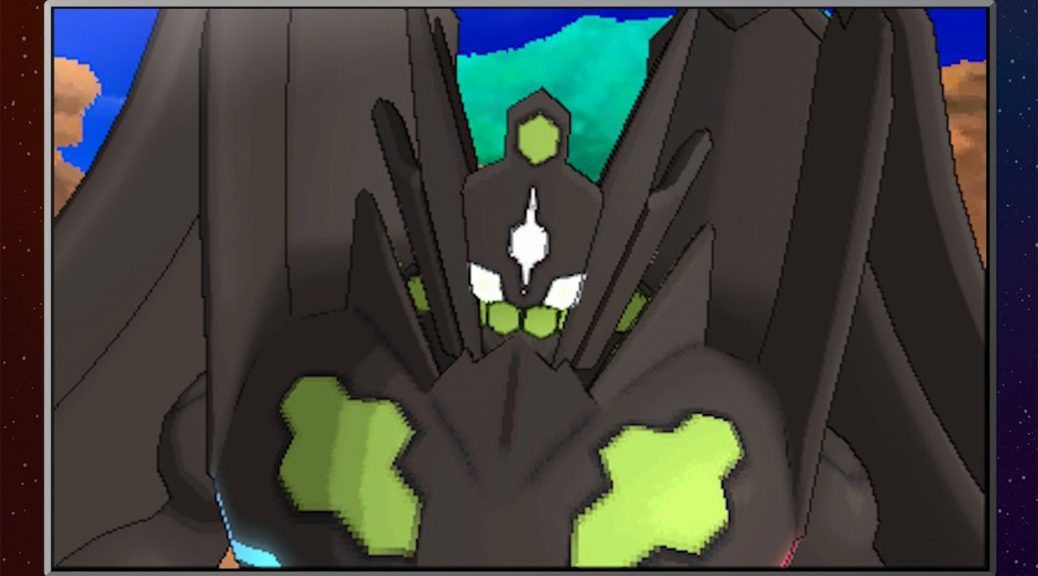 Zygarde's 100% Forme as revealed by The Pokémon Company's YouTube channel.