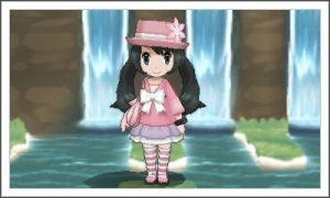 """I've kind of stylized my character as a Fairy-type Trainer"" -clefairydesuyo"