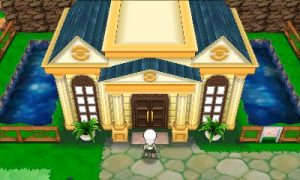 No Battle Frontier here, sadly. Just the Battle Maison.