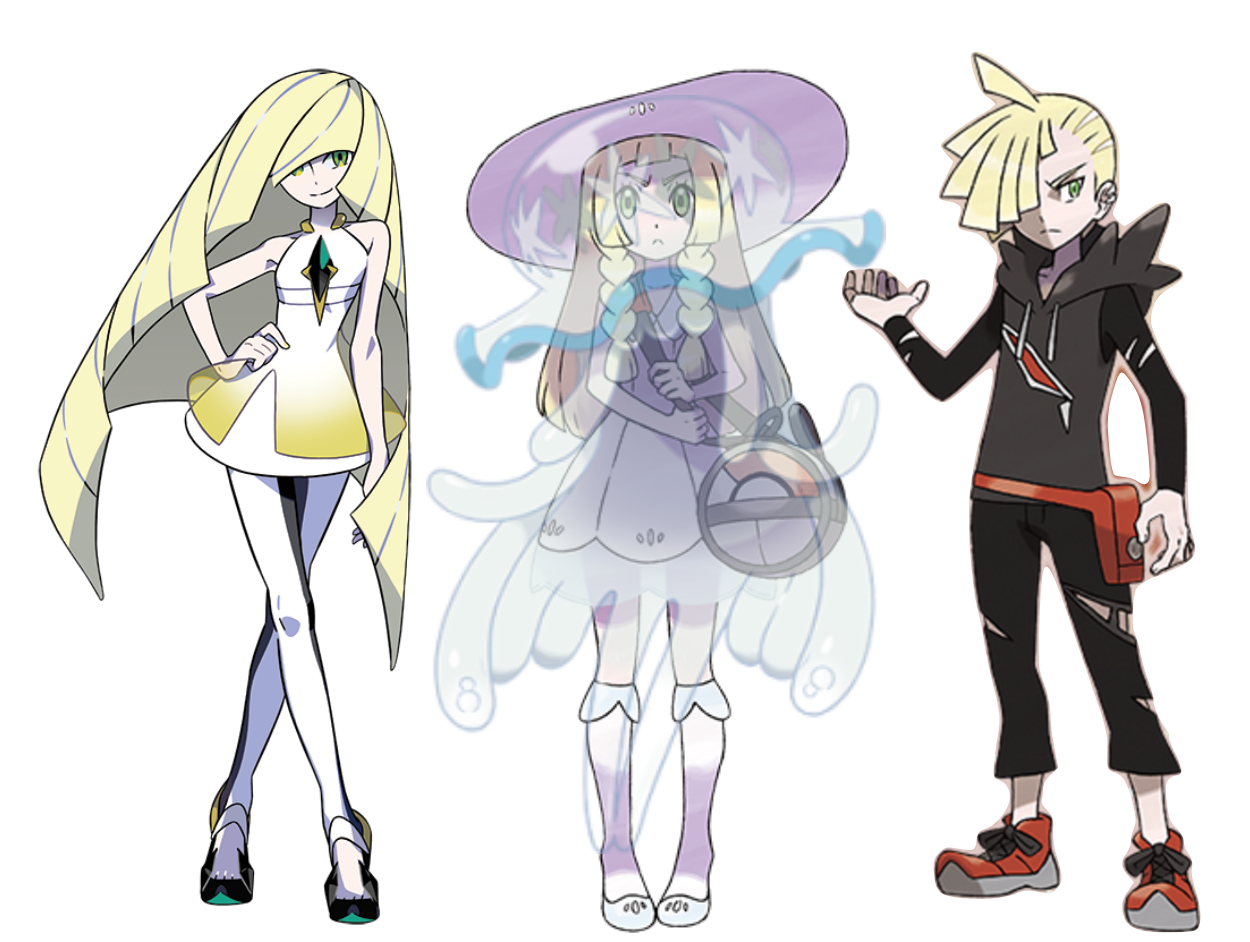 The Mystery of Lillie: Relative of Gladion and Lusamine, or UB-01 ...