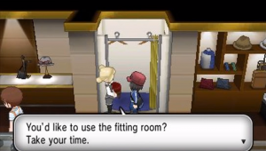 You're able to customize your character in XY.