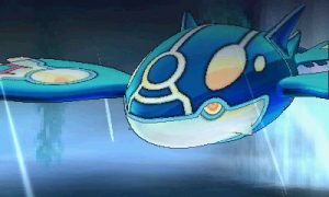 Primal Kyogre looks about as unhappy as regular Kyogre.