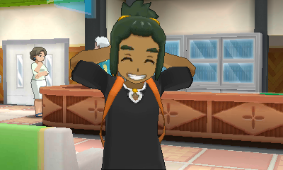 Hau's smile is infectious.