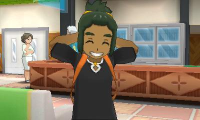 Hau's smile is infectious.
