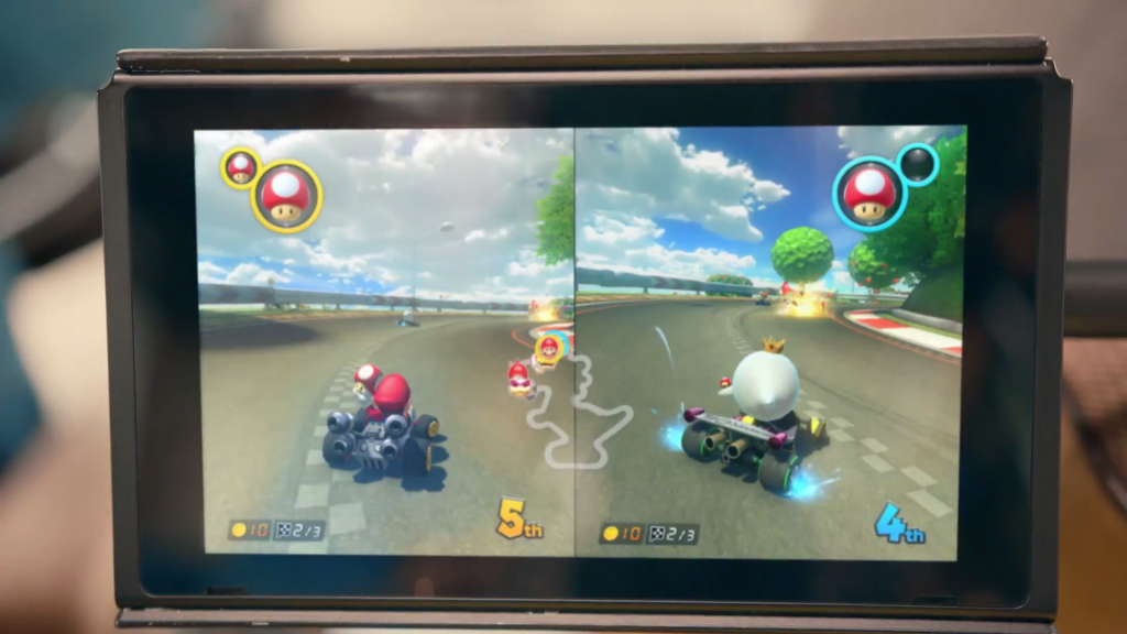 Look how nice this new Mario Kart looks!