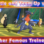 Battle Cynthia, Blue, Red, Wally and more in Sun/Moon in the Battle Tree