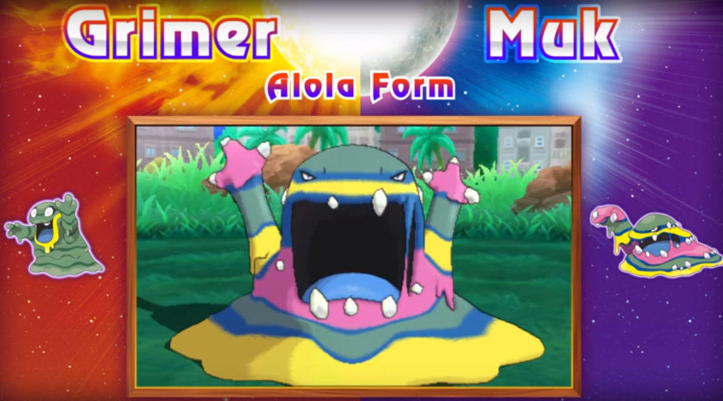 Alolan Muk And New Characters For Sun And Moon Pokécommunity Daily