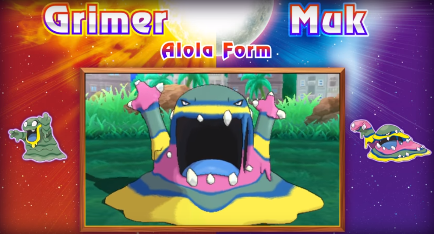 Alolan Muk and New Characters for Sun and Moon | PokéCommunity Daily