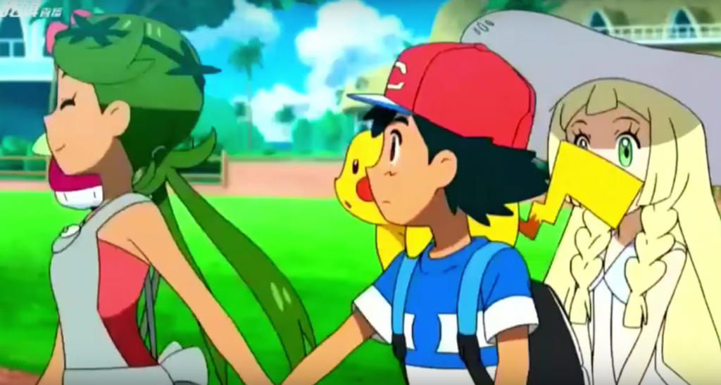 Is Ash ready to move on from Serena already?!