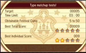 An example of one of the types of missions you may get in the Festival Plaza.