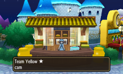 The Team Yellow Dye House.