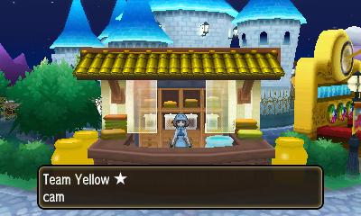 The Team Yellow Dye House.