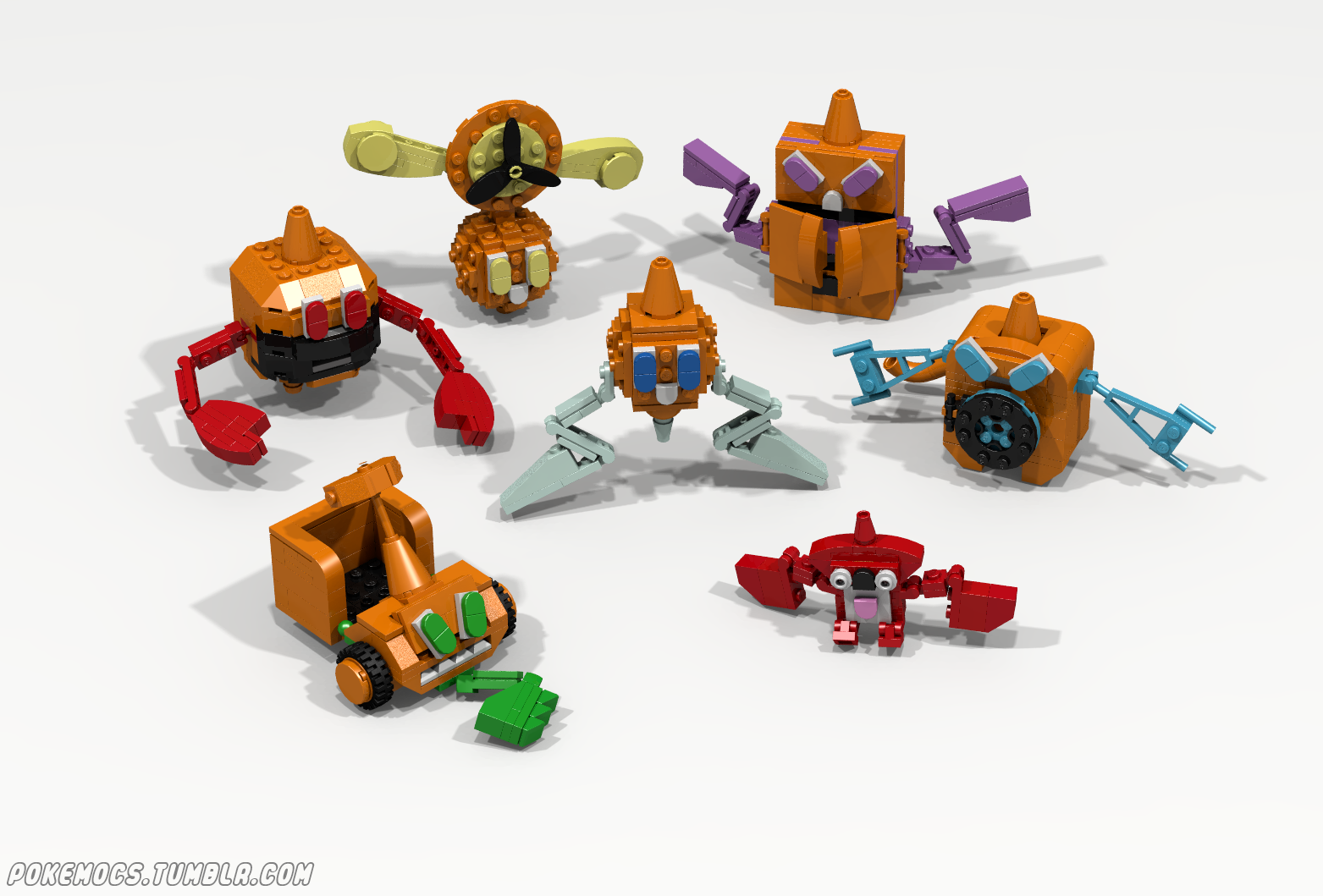 Creative Mind Creates Lego Pokemon