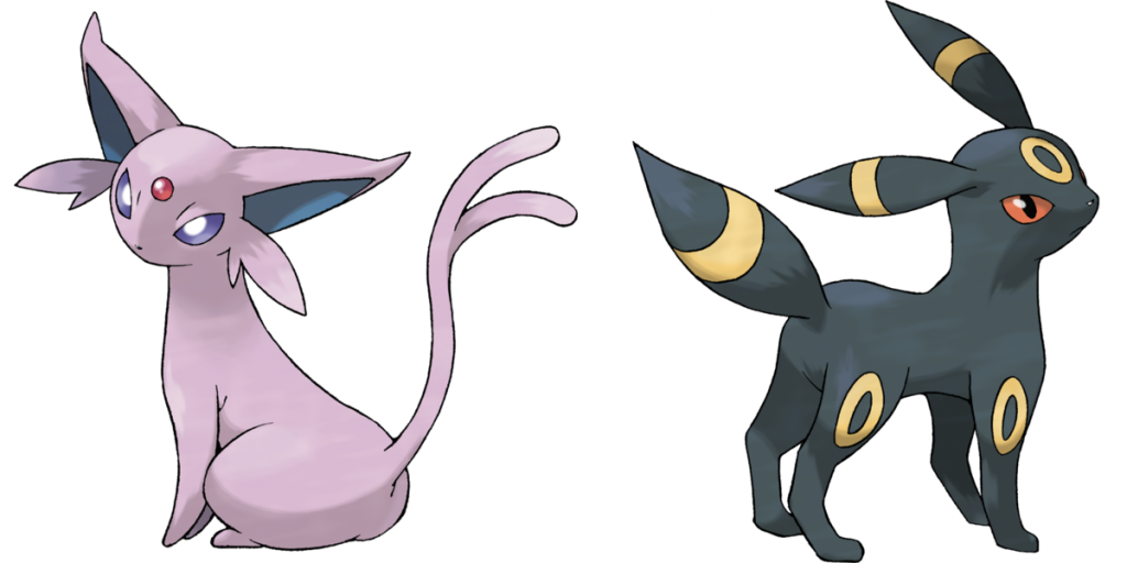Espeon and Umbreon evolution methods revealed in Pokémon ...