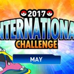 May's 2017 International Challenge is starting soon