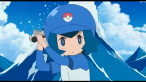 Pok mon anime daily sun and moon episode 28 summary review for Fishing rod pokemon moon