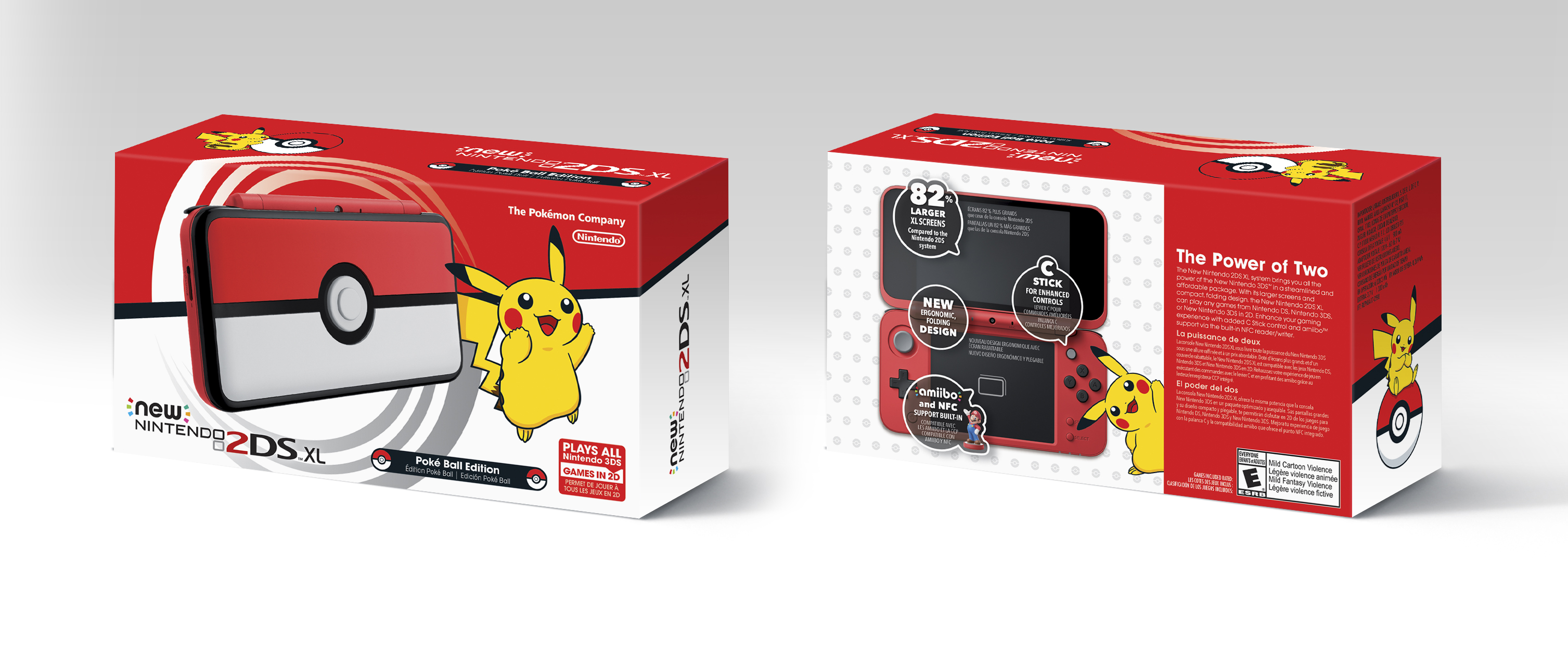 Nintendo releasing a pok ball 2ds xl and a us orange for Housse 2ds xl pokemon