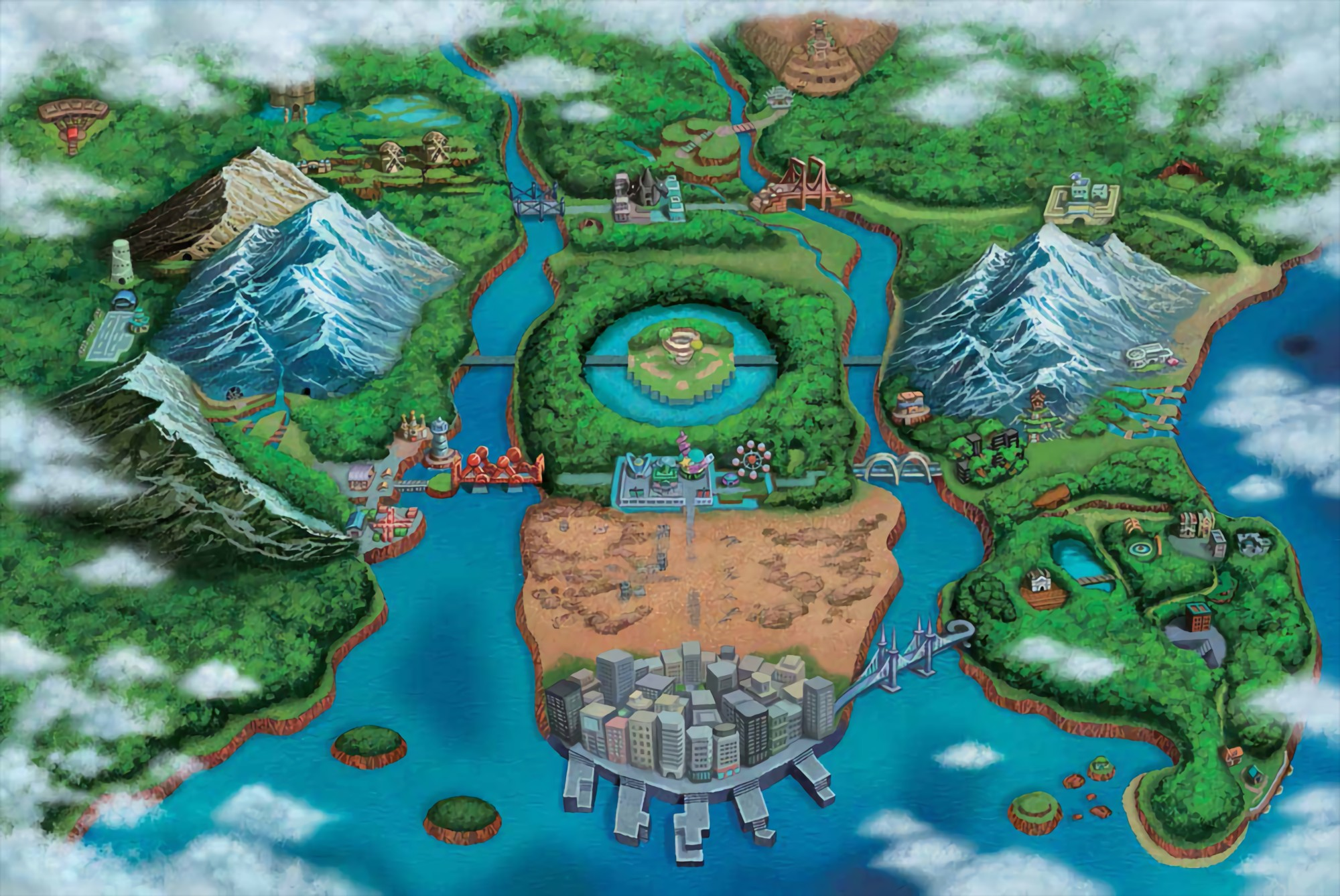 Hexagons are everywhere in Unova