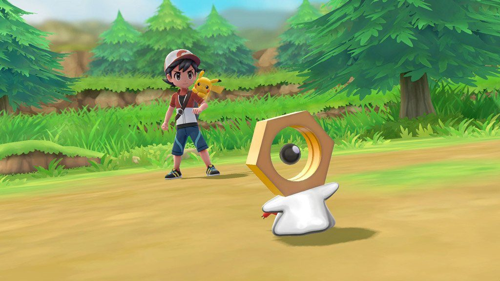 Check out Meltan directly in battle!