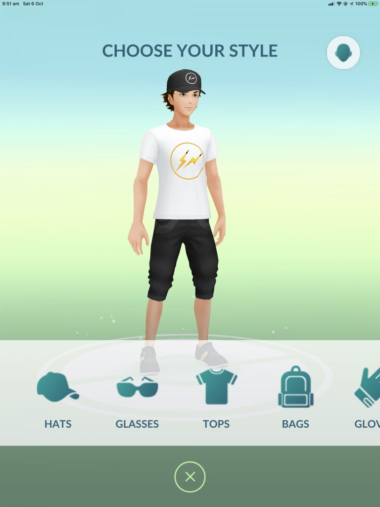 A new shirt and cap are available in GO.