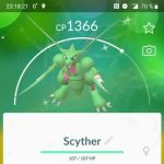 Shiny Scyther added to Bug-type GO event