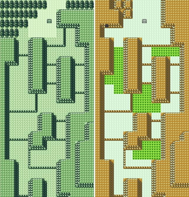 Route 45 comparison